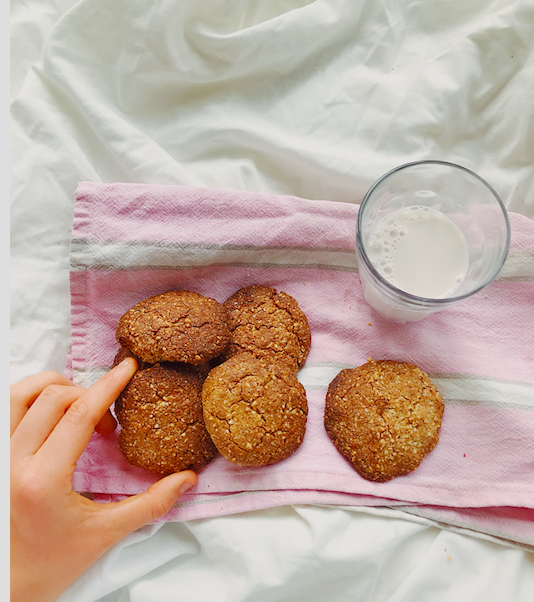 Almond Nut Butter Cookies