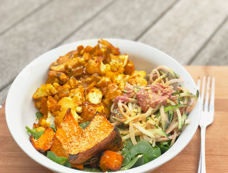 My Salty Sweet Roast Pumpkin Salad